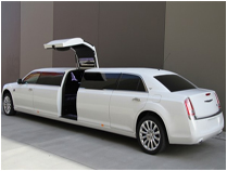Super streched limousine