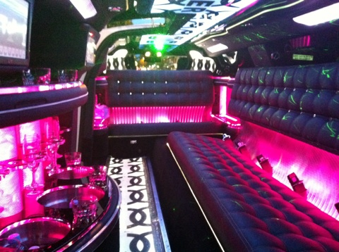 Chrysler 300c Super Stretch Limousine Interior